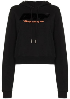 Off-White Will You Marry Me? hoodie
