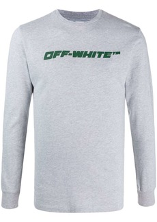 Off-White worker logo-print sweatshirt
