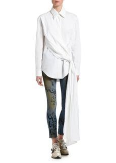 Off-White Wrapped Poplin Shirt