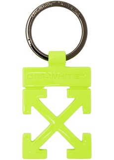 Off-White Yellow Arrows Keyring