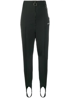 Off-White zip-front slim-fit trousers
