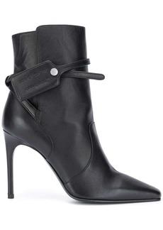 Off-White Zip Tie heeled boots