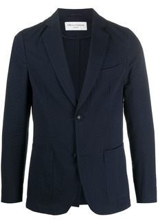 Officine Generale fitted single breasted blazer