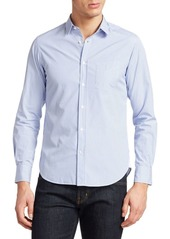 Officine Generale Lipp Candy Striped Cotton Shirt