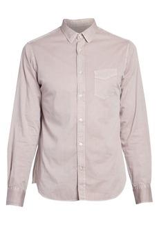 Officine Generale Lipp Stitch Pigment Dye Shirt