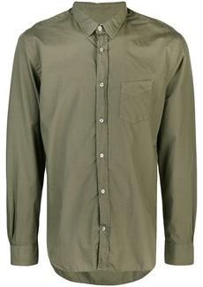 Officine Generale Lipp stitch pigment dyed shirt