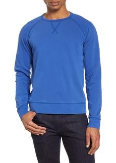 Officine Generale Officine Générale Clement Pigment Dyed Crewneck Sweatshirt