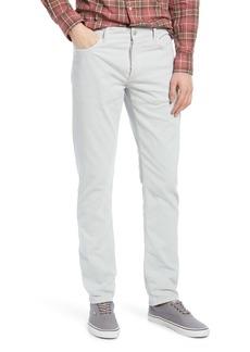 Officine Generale Officine Générale Kurt Pigment Dye Corduroy Slim Straight Jeans (Glacier Grey)