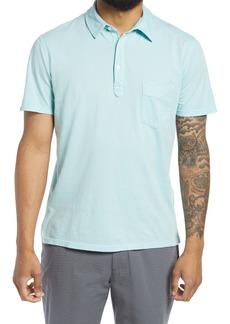 Officine Generale Officine Générale Men's Ice Touch Solid Polo Shirt