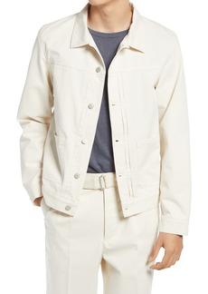 Officine Generale Officine Générale Men's Leo Organic Cotton Twill Jacket