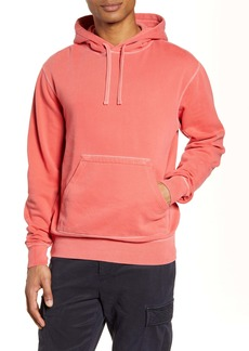 Officine Generale Officine Générale Oliver Pigment Dyed Hooded Sweatshirt