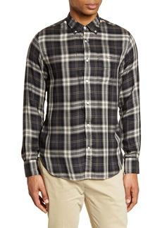 Officine Generale Officine Générale Plaid Button-Down Shirt