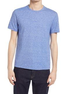 Officine Generale Officine Générale Slub Stripe Cotton & Silk T-Shirt
