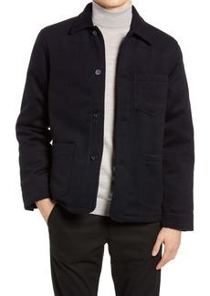 Officine Generale Officine Générale Wool & Cashmere Chore Jacket