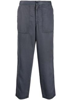 Officine Generale Paolo straight-leg cotton trousers