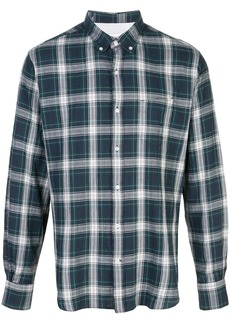 Officine Generale plaid long-sleeve shirt