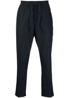 Officine Generale pressed-crease drawstring-waist trousers