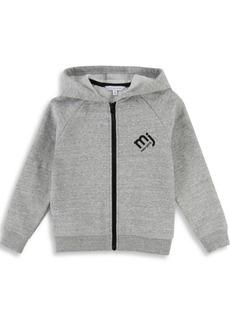 Oilily Little Boy's & Boy's Zip Logo Hoodie
