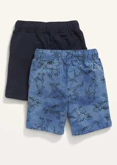 Old Navy 2-Pack French Terry U-Shaped Shorts for Toddler Boys