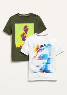 Old Navy 2-Pack Short-Sleeve Graphic Tee for Boys