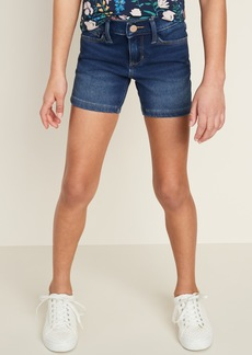 Old Navy 24/7 Jean Midi Shorts for Girls
