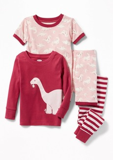 Old Navy 4-Piece Dino-Graphic Sleep Set for Toddler Boys & Baby