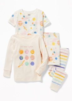 Old Navy 4-Piece Solar System-Graphic Sleep Set For Toddler & Baby