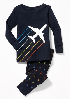 Old Navy Airplane-Graphic Sleep Set for Toddler & Baby