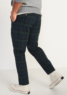 Old Navy Athletic Ultimate Built-In Flex Patterned Chino Pants for Men