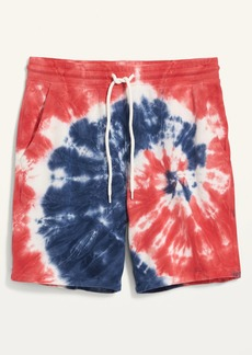Old Navy Americana Tie-Dye Gender-Neutral Sweat Shorts for Adults -- 7.5-inch inseam