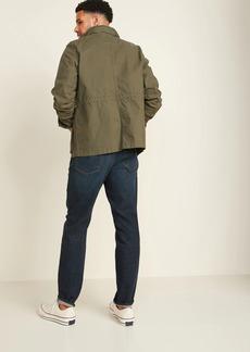 Old Navy Athletic Taper Built-In Flex Dark-Wash Jeans for Men