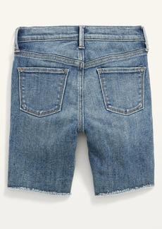 Old Navy Ballerina Frayed-Hem Jean Shorts for Girls