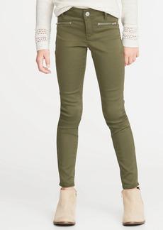 Old Navy Ballerina Pop-Color Zip-Pocket Jeggings for Girls