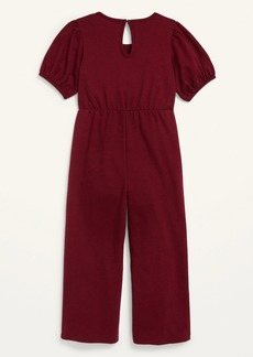Old Navy Balloon-Sleeve Jacquard Jumpsuit for Girls