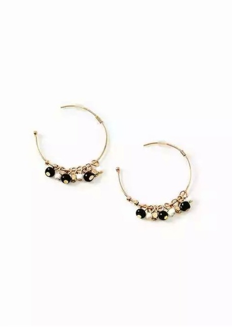 Beadedcluster Hoop Earrings For Women Old Navy