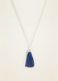 Old Navy Beaded Tassel Chain Necklace for Women