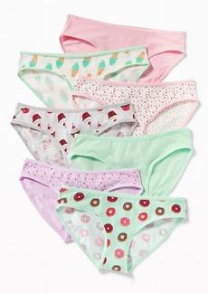 Old Navy Bikini Underwear 7-Pack for Girls