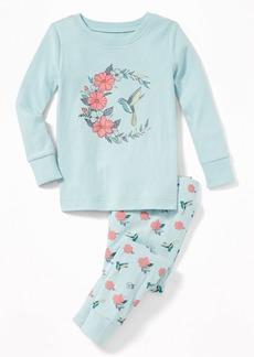 Old Navy Bird-Graphic Sleep Set For Toddler Girls & Baby