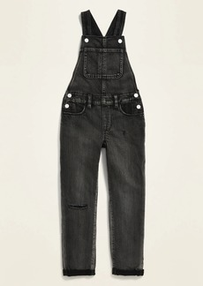 Old Navy Black Jean Overalls for Girls