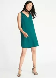 Bow-Back Shift Dress for Women