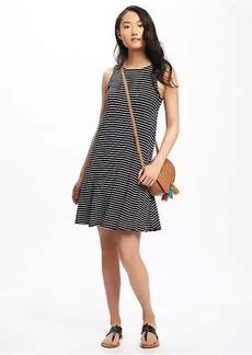 Bow-Tie Back Swing Dress for Women