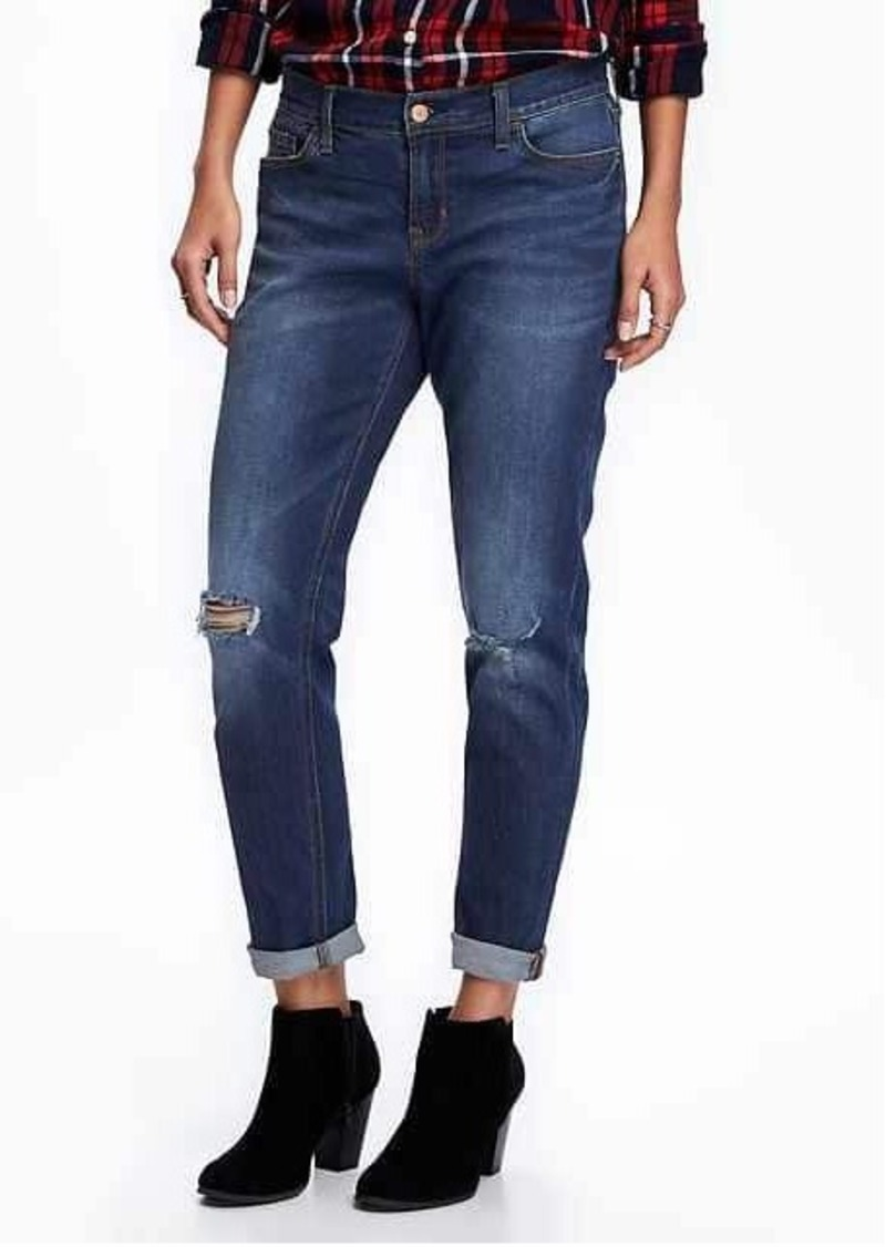 Old Navy Boyfriend Mid-Rise Skinny Ankle Jeans for Women | Denim - Shop It To Me