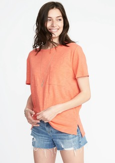 Old Navy Boyfriend Slub-Knit Tee for Women