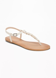 Old Navy Braided T-Strap Sandals for Women