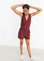 Old Navy Breathe ON Cross-Front V-Neck Romper for Women