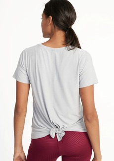 Old Navy Breathe ON Fly-Away Scoop-Neck Top for Women