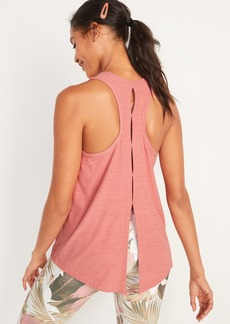 Old Navy Breathe ON Tie-Back Performance Tank Top for Women