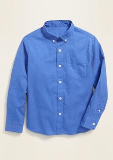 Old Navy Built-In Flex Classic Poplin Shirt for Boys