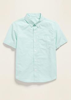Old Navy Built-In Flex Short-Sleeve Shirt for Boys