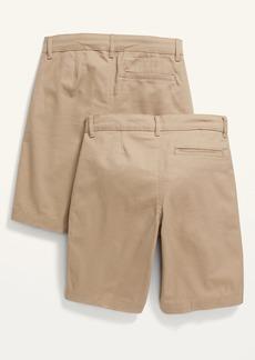 Old Navy Built-In Flex Straight Uniform Shorts 2-Pack for Boys